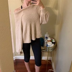 New free People sweater